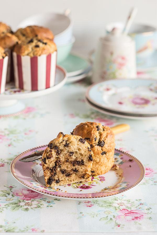 muffins pepitas chocolate