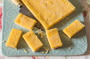 Lemon bars, barritas de limón
