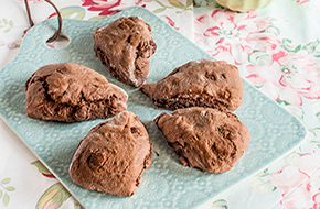 Scones de chocolate