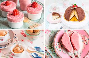 Recetas de postres fríos: helados, sorbetes, granizados...