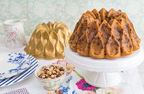 Vídeo-receta: Bundt Cake de avellanas con chips de chocolate