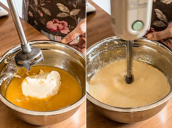 tarta helada mascarpone melocoton