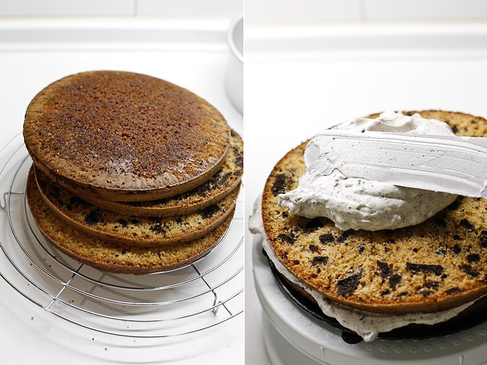 montamos la tarta