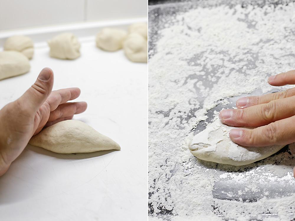 Formamos los molletes