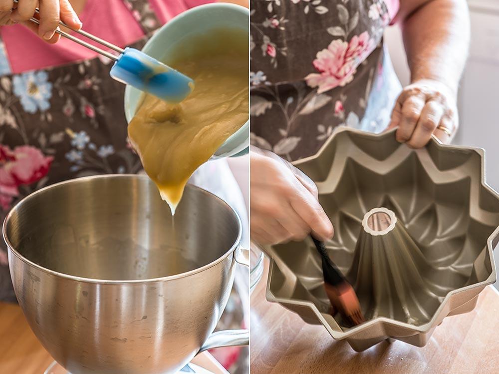 bundt cake compota