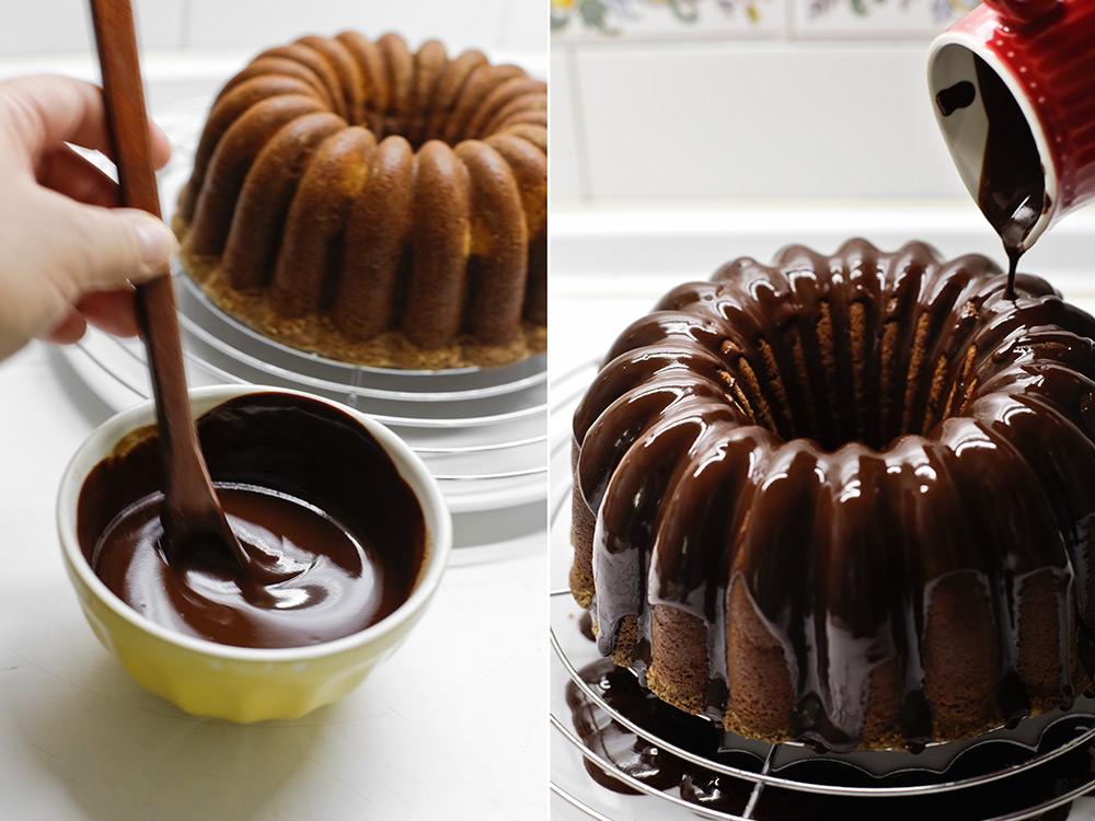 Hacemos el glaseado de chocolate