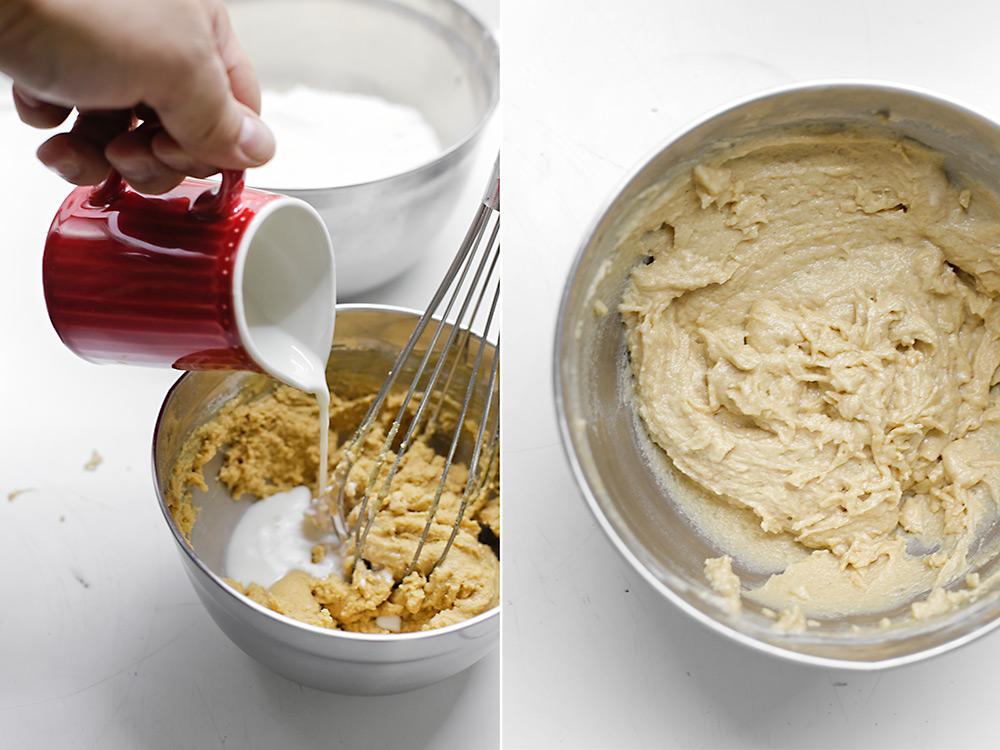 Hacemos masa de mantequilla de cacahuete