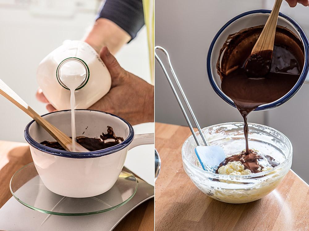 receta bundt cake marmolado