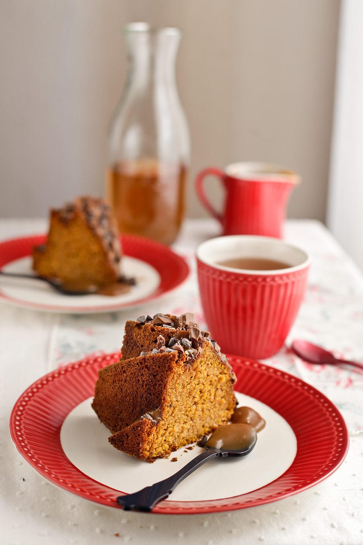 Receta de bundt cake de calabaza 2