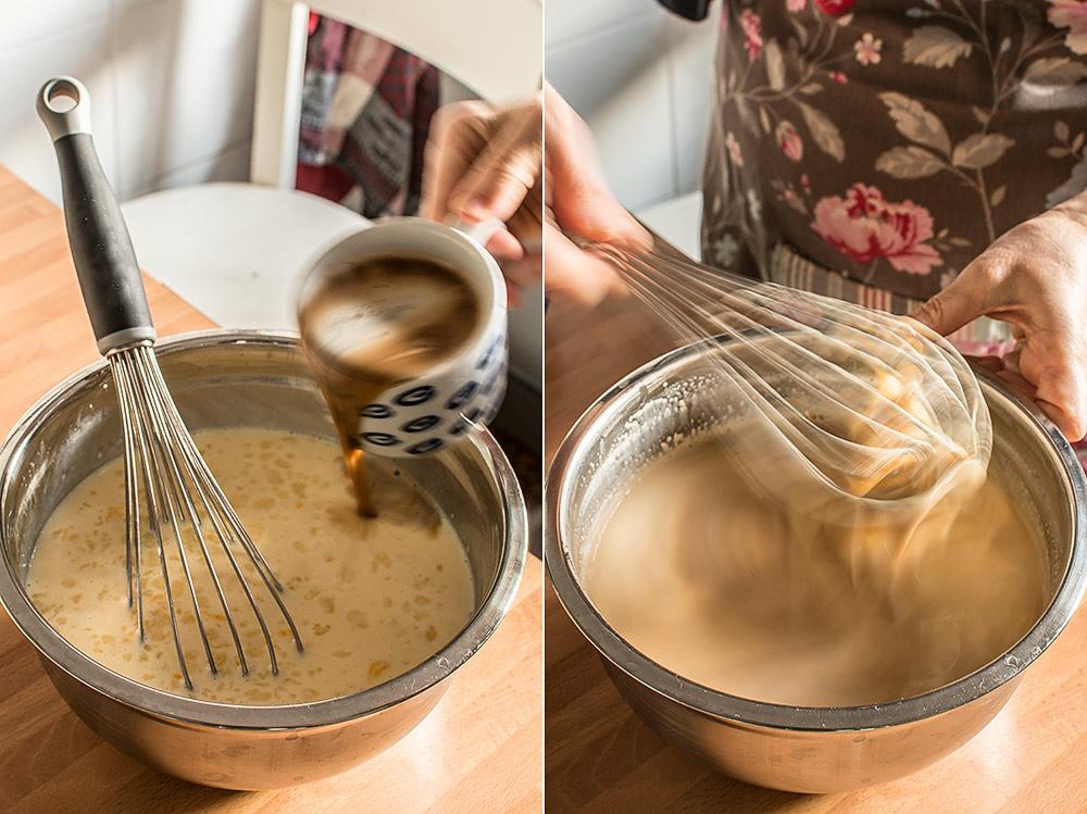receta flan cafe