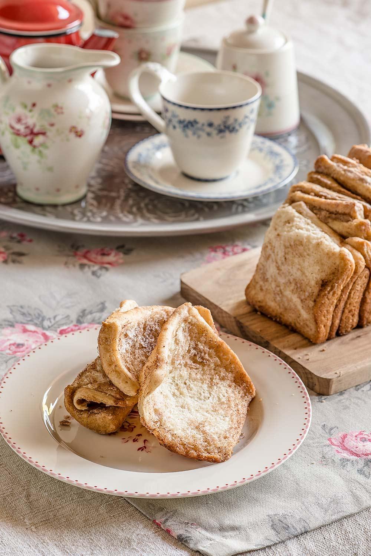 receta pull apart bread