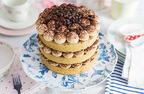 Vídeo-receta: Nude Cake de tiramisú