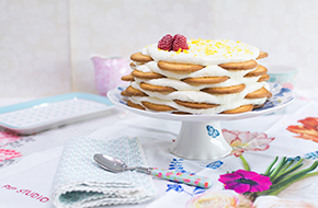 Vídeo-receta en un minuto: Tarta de limón y galletas