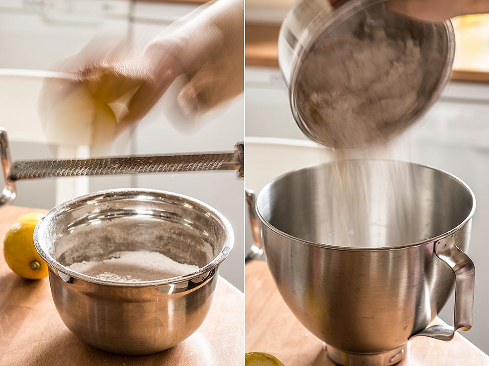 receta mantecados limon