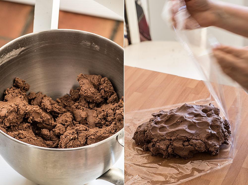 receta polvorones chocolate