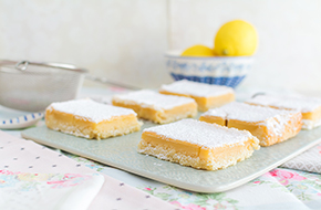 Vídeo-receta en un minuto: Lemon Bars