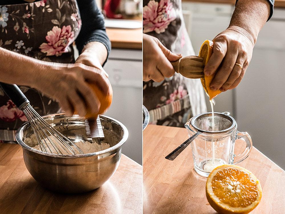 receta chiffon cake naranja