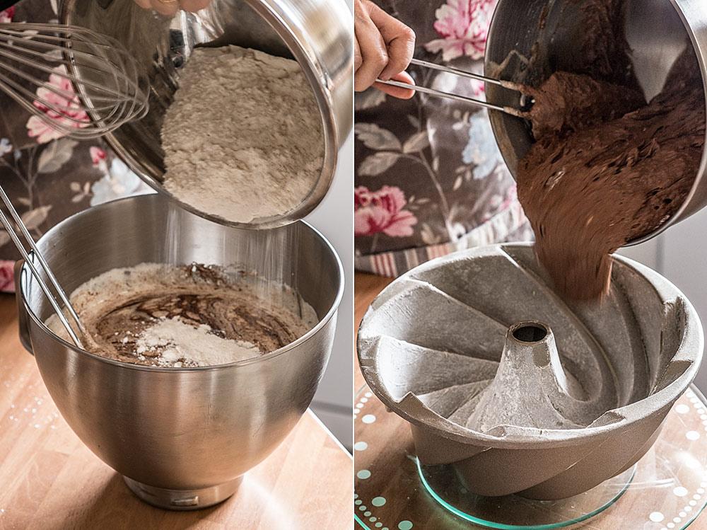 receta cuatro cuartos chocolate
