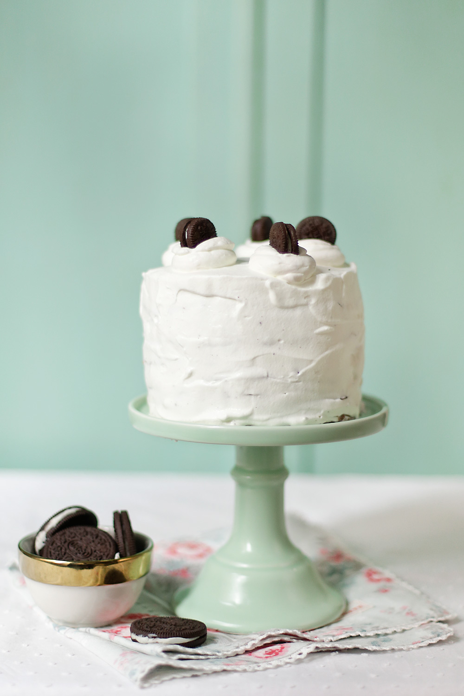 Receta de tarta de crepes y Oreos 1