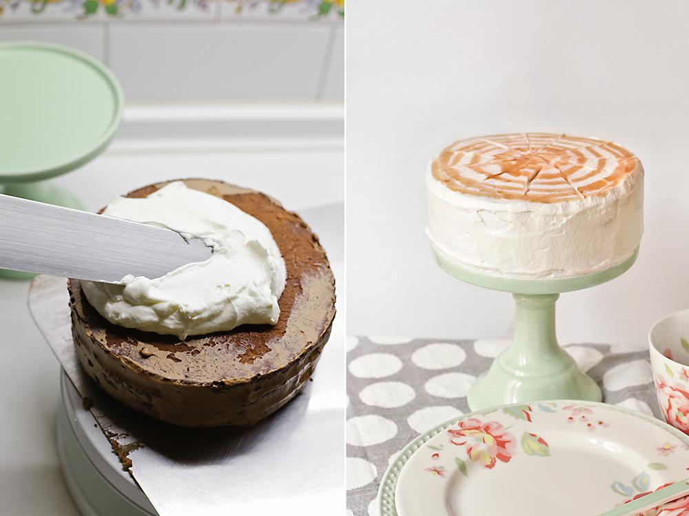 Cubrimos y decoramos la tarta