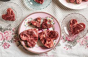 Corazones de Red Velvet para San Valentín