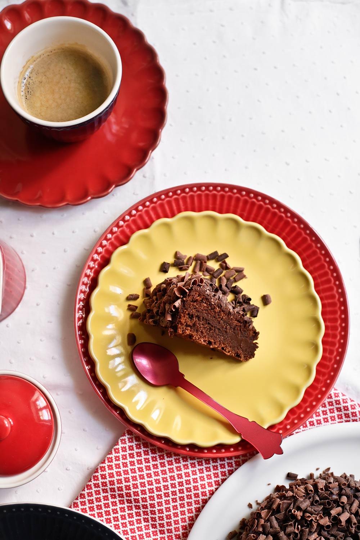 Receta tarta de corazón de chocolate 2