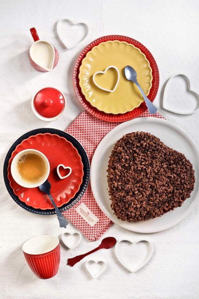 Receta tarta corazón de chocolate