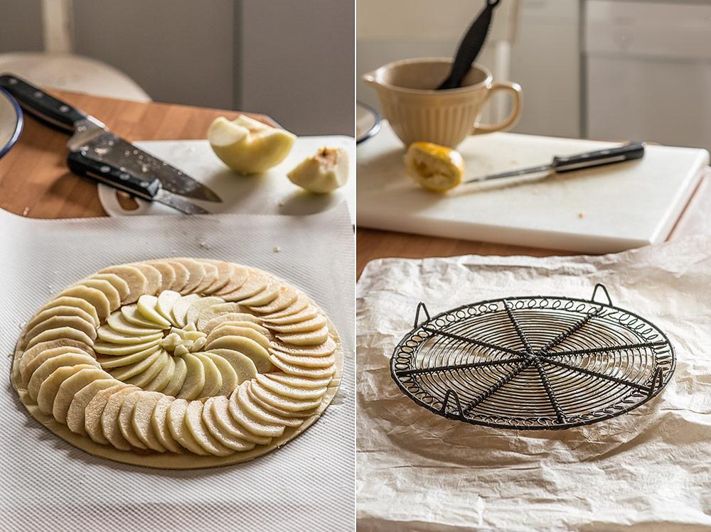 receta tarta fina manzana