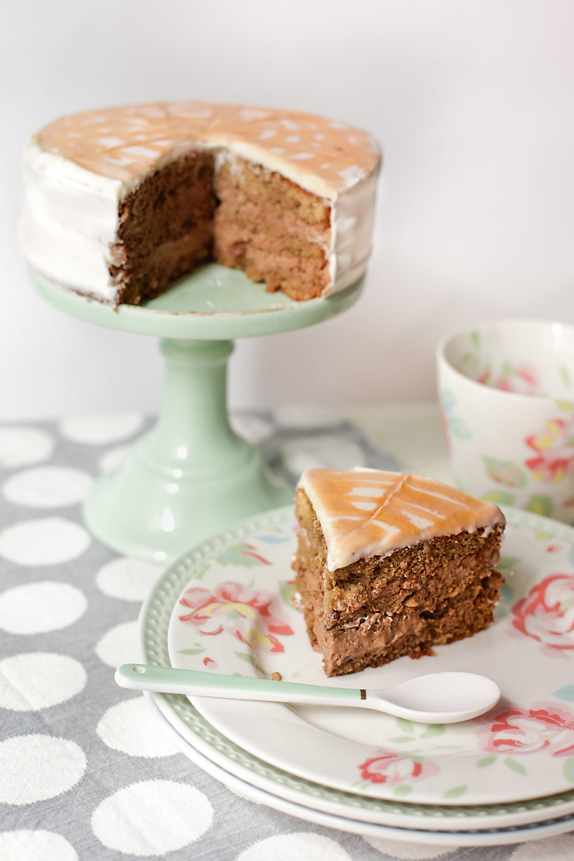 Receta de tarta de café irlandés 2