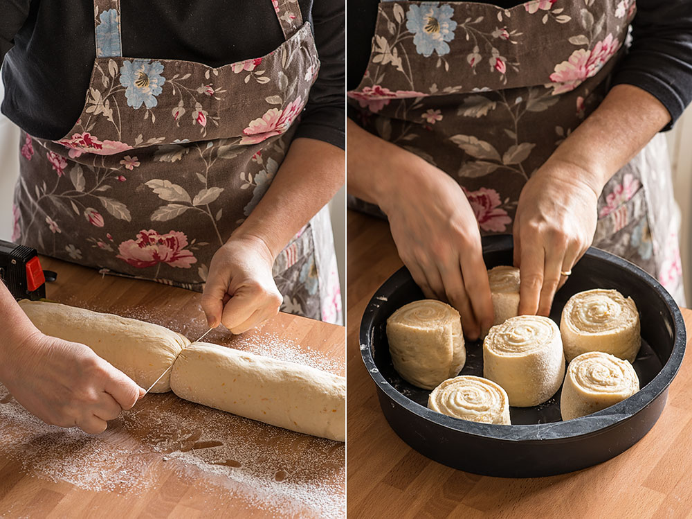 receta caracolas crema