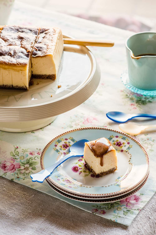 receta cheesecake chocolate blanco