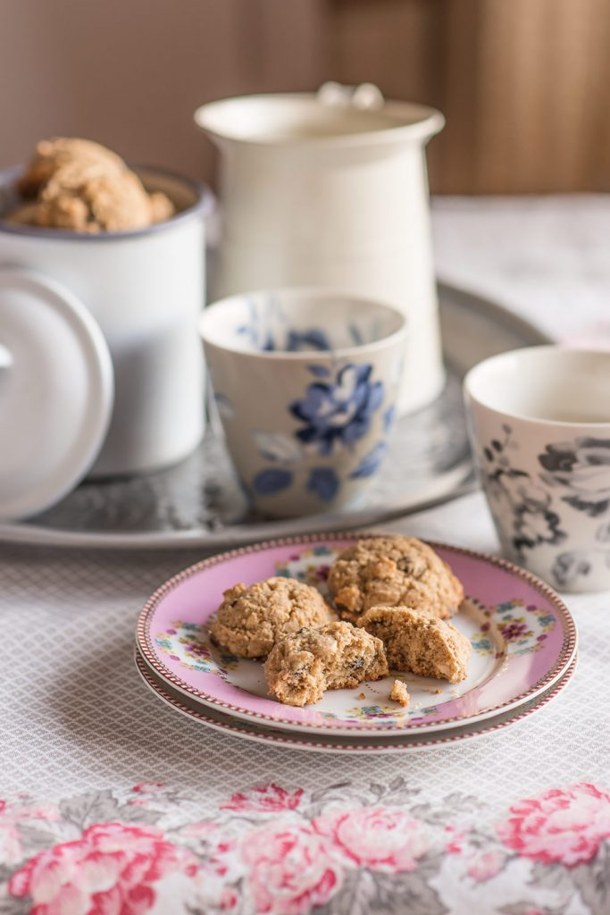 receta cookies chocolate avena