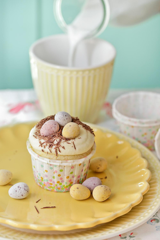 Receta de cupcakes con huevos de Pascua 1