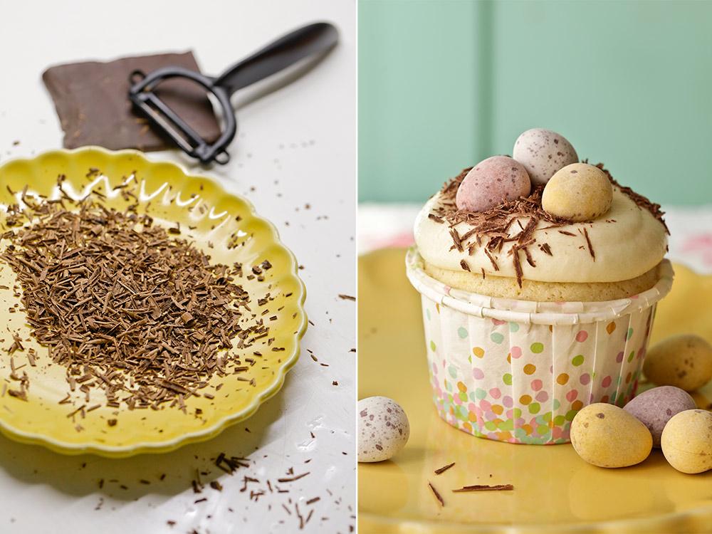 Receta de cupcakes con huevos de Pascua 8