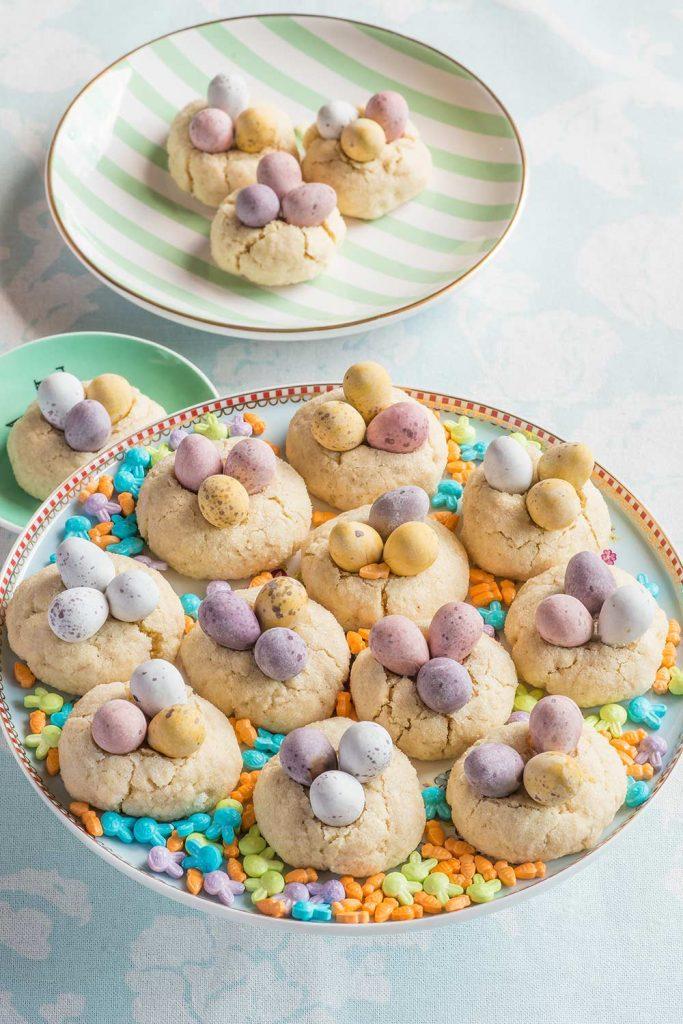 receta galletas nido pascua
