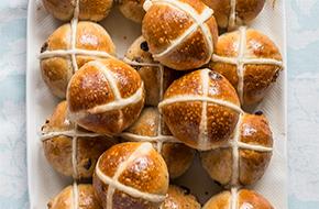 Cómo hacer Hot cross buns
