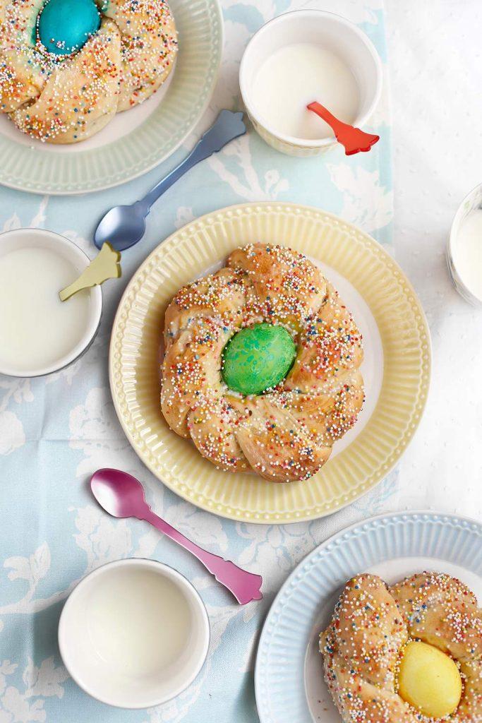 Receta pan de Pascua italiano 1