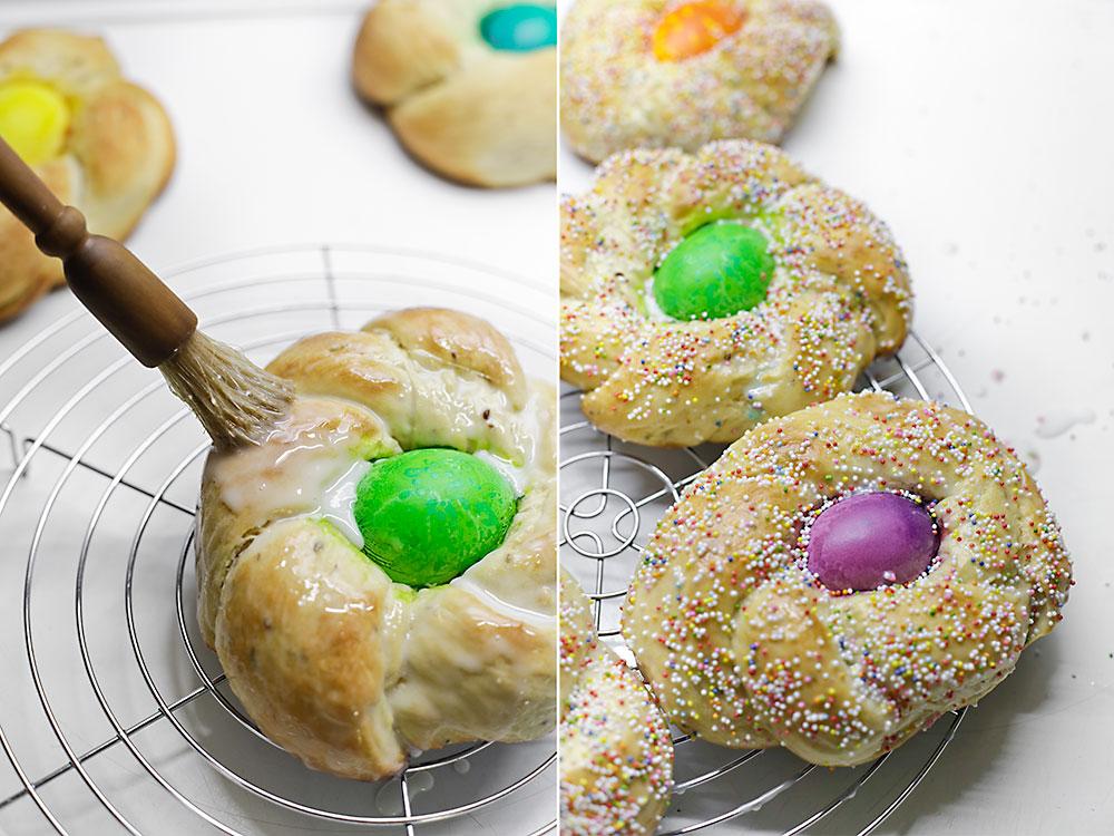Receta pan de Pascua italiano 10