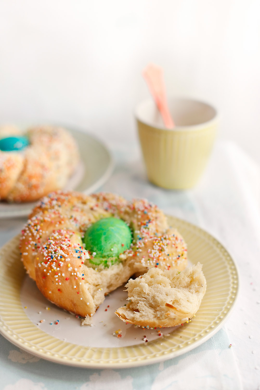 Receta pan de Pascua italiano 2