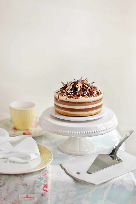 Receta de tarta tres chocolates 1