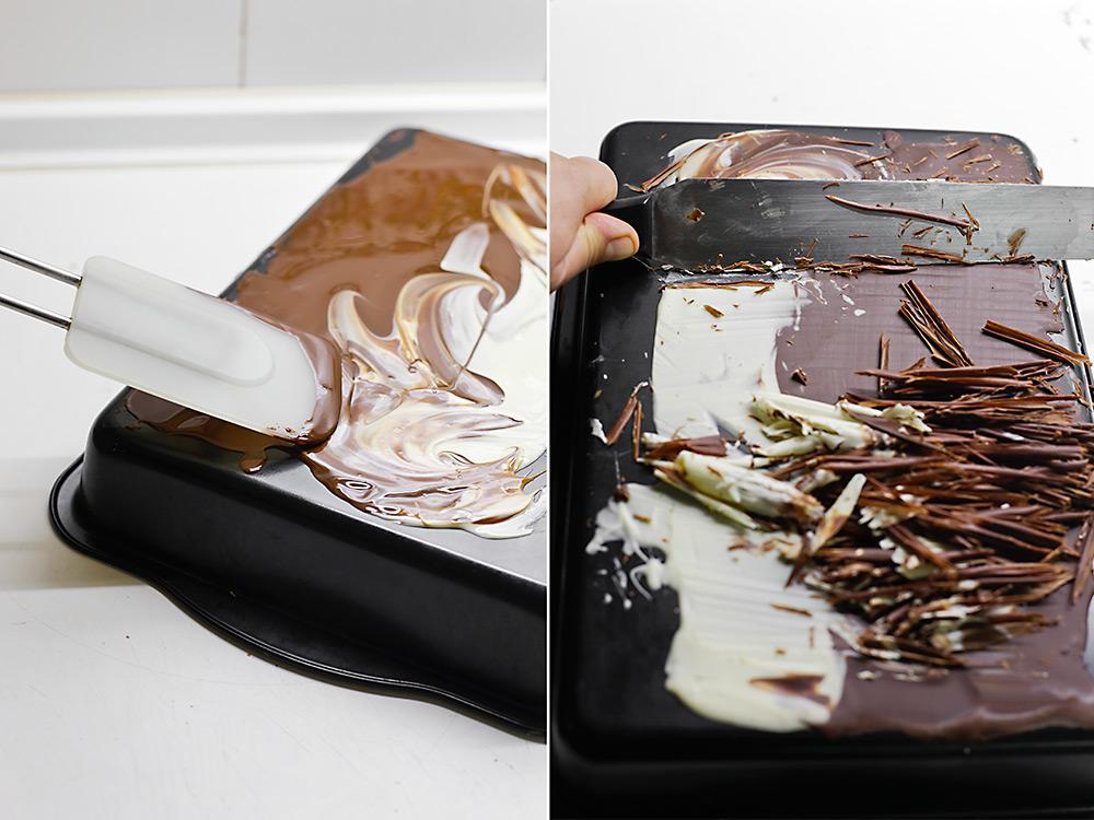 Receta de tarta tres chocolates 9