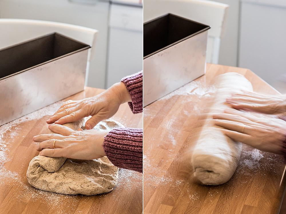 receta pan molde integral