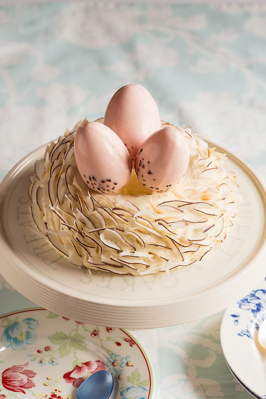 receta tarta nido pascua