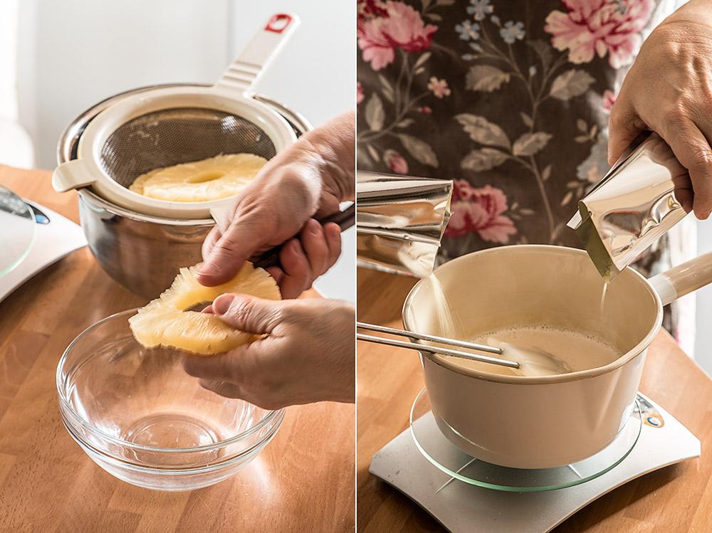 receta tarta pina sin horno