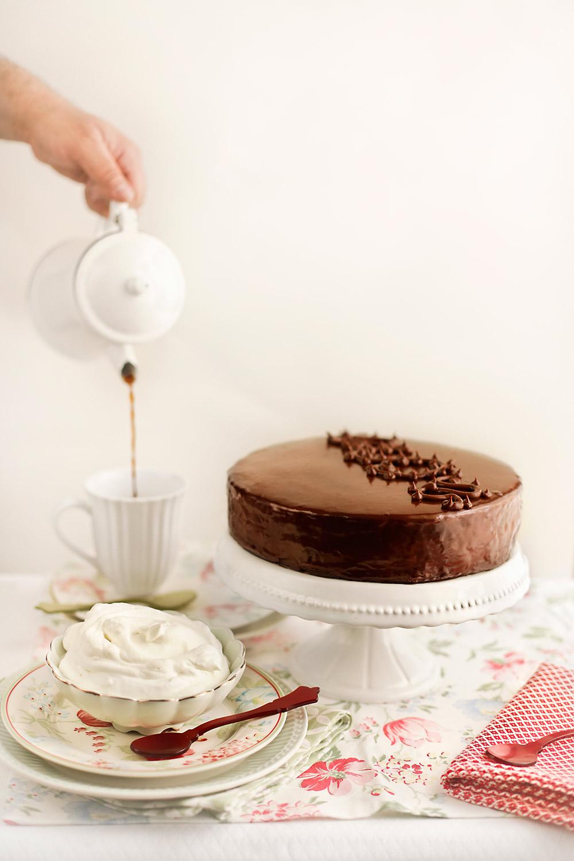 Receta de tarta Sacher 1