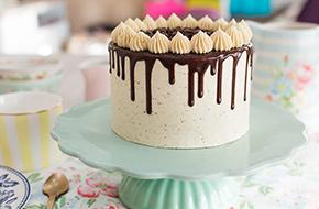 Vídeo-receta: Tarta de moca y chocolate