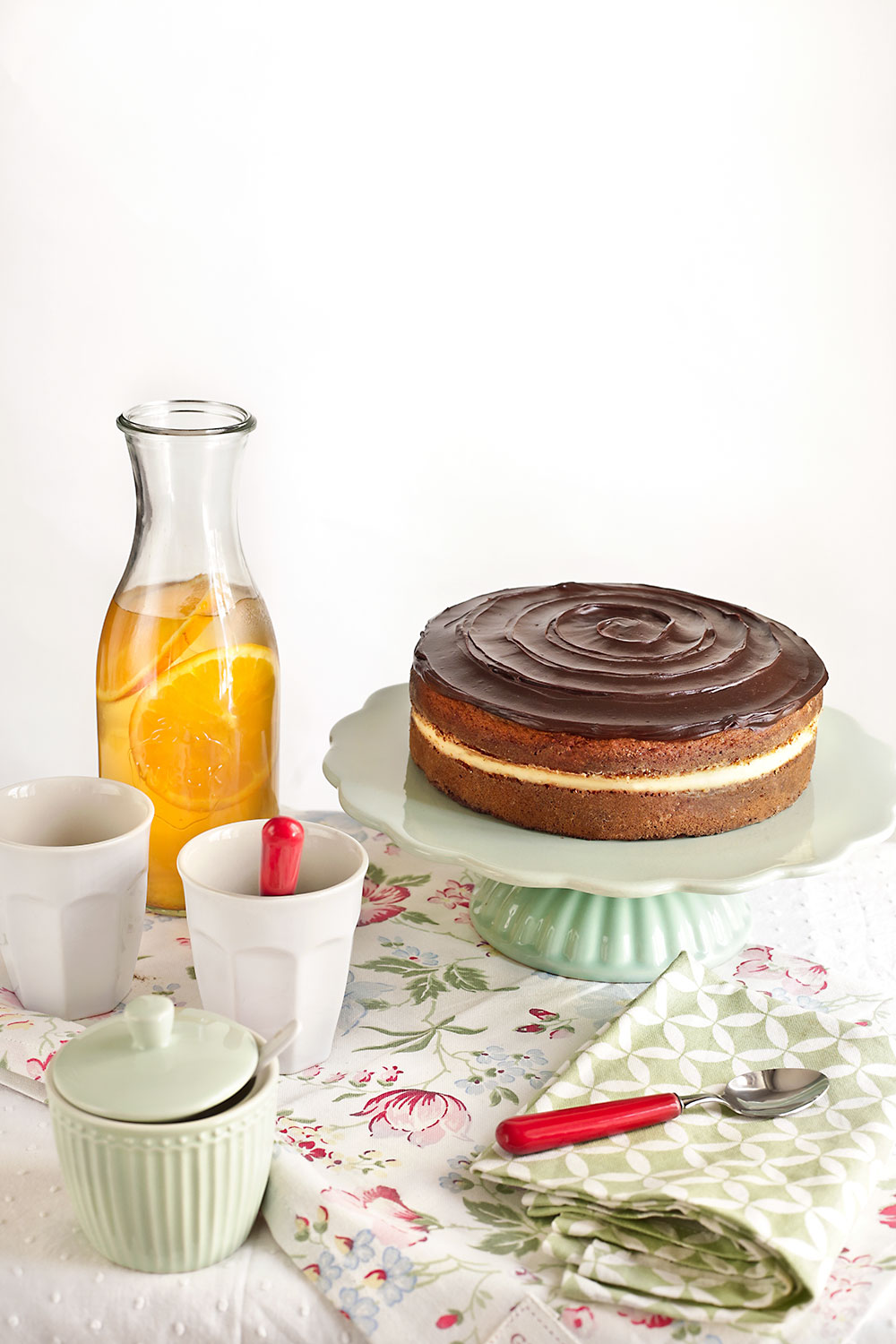 Receta de Boston cream pie 1