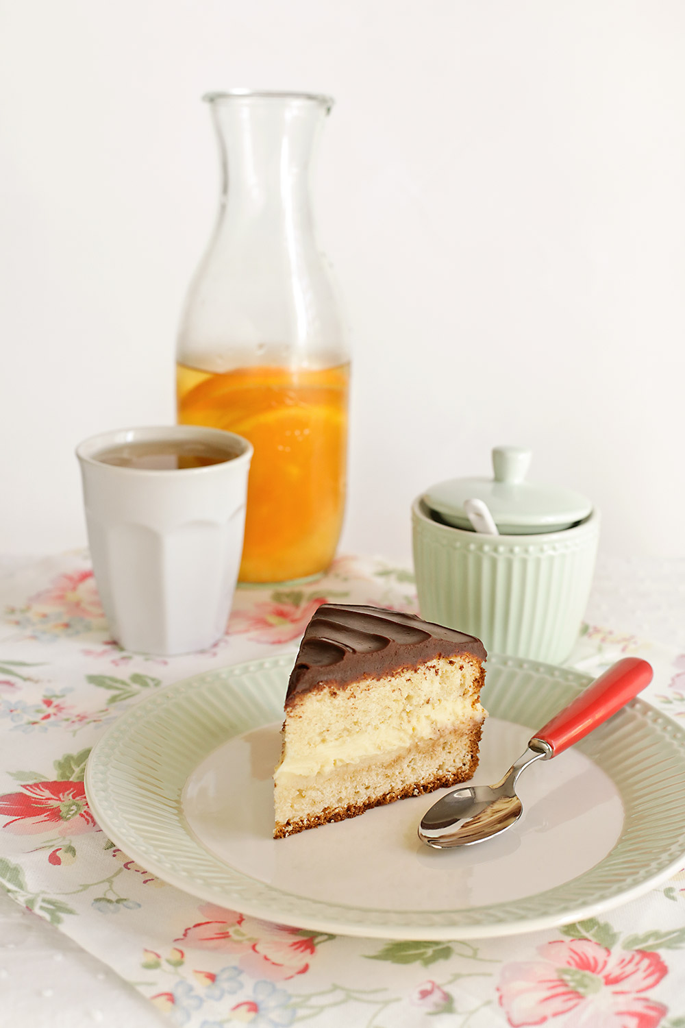 Receta de Boston cream pie 2