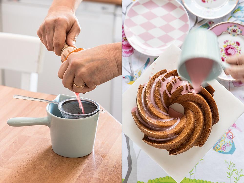 receta bundt cake naranja
