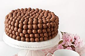 Tarta doble chocolate con Maltesers